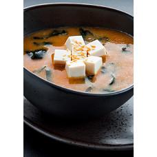 Мисо-широ с тофу
